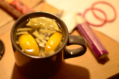 Чай с чесън при грип