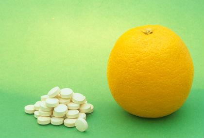 витамин ц настинка
