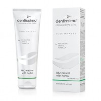Паста за зъби Dentissimo BIO-natural with herbs